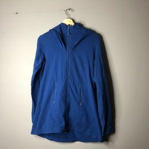 Lululemon hooded blue sweater long 8